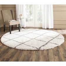 top 54 blue ribbon round fluffy rug 9 foot round rug large round rugs 8