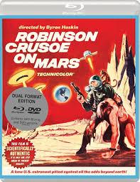 robinson crusoe on mars blu ray eureka classics dual format robinson crusoe on mars blu ray eureka classics dual format edition united kingdom