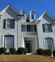 painted brick home painters roswell ga kenneth axt painting