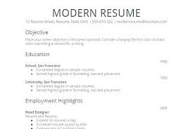 Word Resume Format Formatting A Resume In Word Resume Format Easy