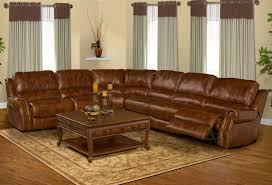 leather reclining sectional. Plain Leather Zeus Coffee Leather 6 Piece Reclining Sectional By Parker House  MZEU8116 On I