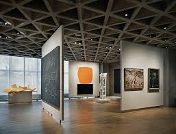 museum track lighting. Art Gallery Track Lighting Awesome Louis Kahn Yale Museum Interior Concrete Triagular Ceiling Of 30