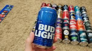 Bud Light Nfl 36 Pack 2017 Bud Light 36 Pack Of Nfl Team Can Full Review