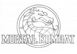 Small Picture Mortal Kombat Coloring Pages Page 2 of 2 Coloring4Freecom