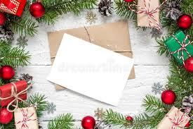 Blank Boxes To Decorate Christmas Blank Greeting Card In Frame Made Of Fir Tree Branches 71