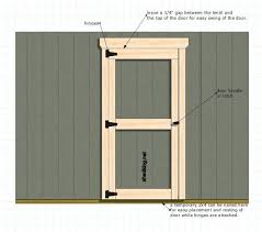 One of the simplest ways to build single shed doors for your storage shed,  garden shed, playhouse and any other outdoor structure needing an entry