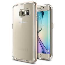 samsung galaxy s6 gold case. spigen neo hybrid case cc for samsung galaxy s6 edge (clear-gold) gold a