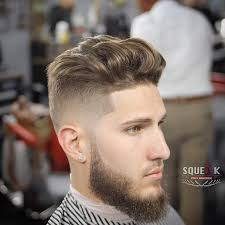 Stylish Medium Length Mens Haircuts Together With Squeakprobarber