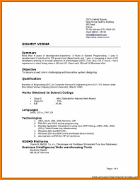 Types Of Resumes 24 Diffrent Types Of Resumes Cv English 23