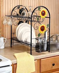 rooster and sunflower kitchen decor sunflower kitchen décor with cheerful nuance home decor studio