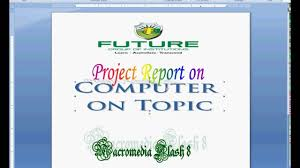 project report front page how to make front page in microsoft word 7 3 youtube