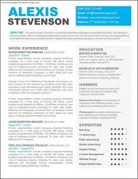 Creative Professional Resume Templates Free Samples All Best Cv
