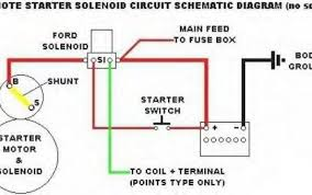 ford starter wiring diagram & ford starter relay wiring diagram ford starter wiring diagram at Basic Ford Solenoid Wiring Diagram