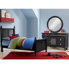 Seaside Bedroom Furniture Seaside Twin Bed Black Value City Furniture
