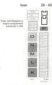 R230 Fuse And Relay Diagrams Mercedes Benz Forum