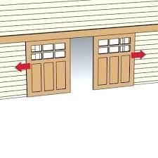 bypass sliding garage doors. Plain Doors Sliding Garage Doors Locking From  Both Sides Latch Inside Interesting For Bypass Sliding Garage Doors N