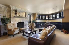 basement remodeling mn. Basement With Stone Fireplace Remodeling Mn ,