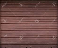 garage door texture. Brown Metal Garage Door, Roller Shutter Background Texture Stock Photo - 44929420 Door