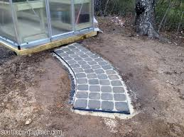 diy pavers. Contemporary Diy DIY Curved Paver Walkway And Diy Pavers