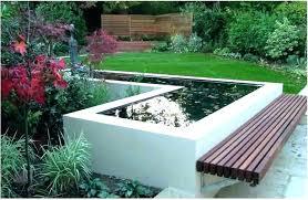 fish pond ideas above ground gardens kits on raised construction garden bed plans
