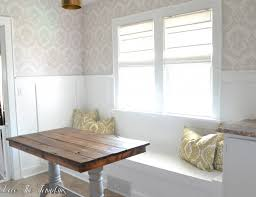 Kitchen Nook Diy Built In Bench Breakfast Nook Love The Tompkins