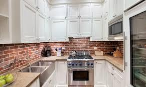 Installing Brick Tile Backsplash