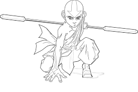 Small Picture Craftoholic Avatar The Last Airbender Coloring Pages