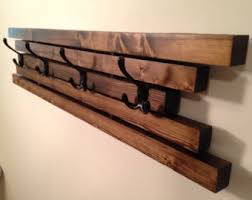 Wooden Coat Rack Wooden coat rack Etsy 56