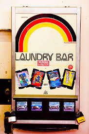 Vend Rite Soap Machine Stunning VendRite's Laundry Bar Fonts In Use