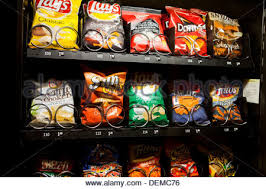 Chips Vending Machine Awesome Popular Chips In Vending Machine USA Stock Photo 48 Alamy