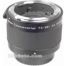 Nikon Tc 201 2x Manual Focus Teleconverter