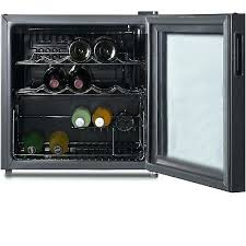 bottle wine cooler bar fridge refrigerator glass door mini beverage fridges enthusiast keeps beeping cellar large