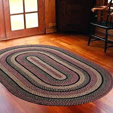 oval area rugs braided area rugs home decor primitive country style oval area floor