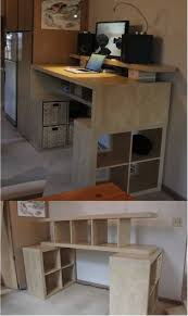 Ikea furniture desks Study 20 Handy Desks Created From Ikea Products Ritely 20 Handy Desks Created From Ikea Products Ritely