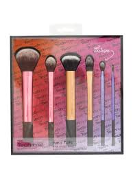 real techniques sam s pick makeup brush set kit collection exclusive limited edition