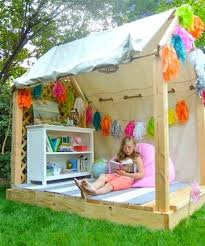simple kids outdoor playhouse plans on backyard lawn designs japanese garden decoration