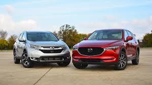 Honda Cr V Vs Mazda Cx 5 The Head And The Heart Of Suvs