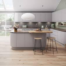 Magnet Kitchen Designer Jobs Magnet Luna Matt Light Grey Kitchen Luna Cashmere Kitchen