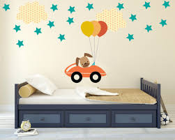 dog wall decals decal nursery boys room batman stickers bedroom white removable baby tree art kids