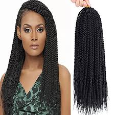 Croshay Hairstyles 16 Wonderful Befunny 24Packs 124 Senegalese Twist Crochet Hair Braids Small Havana