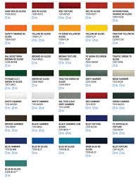 Cardinal Powder Color Chart Color Chart Powder Coating Inc