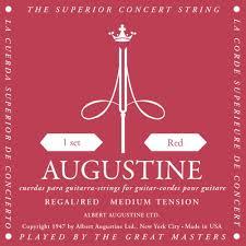 Augustine Classical Guitar Strings Medium Tension Red