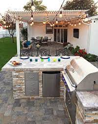 40 Ideas For Highly Functional Traditional Outdoor Kitchens 14 Gentileforda Com Modern Outdoor Kitchen Diy Outdoor Kitchen Outdoor Kitchen Decor