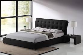 modern black bedroom furniture. Image Of: Modern Black Bed Furniture Bedroom