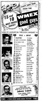 Wmex Boston Ma 1967 01 08 In 2019 Music Charts Music