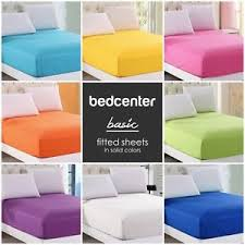 colorful bed sheets. Image Is Loading Solid-Color-Fitted-Sheet-Twin-Full-Queen-King- Colorful Bed Sheets I