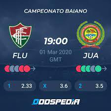 Fluminense De Feira - Juazeirense BA » Live Score & Stream + Odds, Stats,  News
