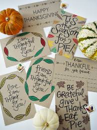 Thanksgiving Cards For A Cause Campaign // etsy.com/shop/atiliay