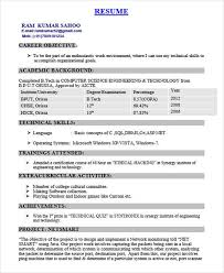 iti fitter resume format best resume gallery