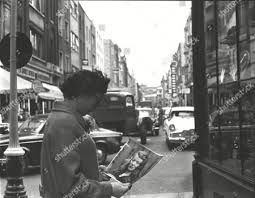Gertrude Kane Searching Streets Soho Her 32yearold Editorial Stock Photo -  Stock Image | Shutterstock